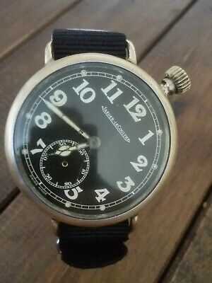 Jaeger LeCoultre 1959 Military Marriage Watch Rare Vintage pocket wristwatch