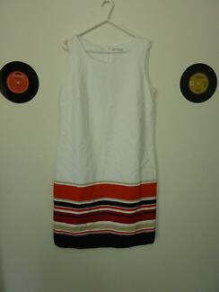 Retro style shift dress