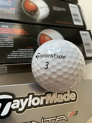 TaylorMade Penta TP3 Golf Balls - NEW - BOXED - 12