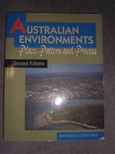 Australian Environments - Place, Pattern and Process 2nd ed Cottesloe Cottesloe Area Preview