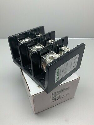 Littlefuse Lfd35533 Acs Distribution Terminal Block 600v 3-pole 380a