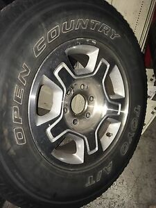 Chevy truck rims and tires