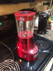 Red Cuisinart Blender