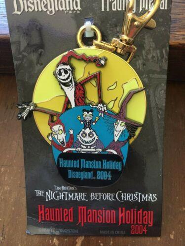 Disney Nightmare HMH 2004 Santa Jack Skellington  Pin Lanyard Medal