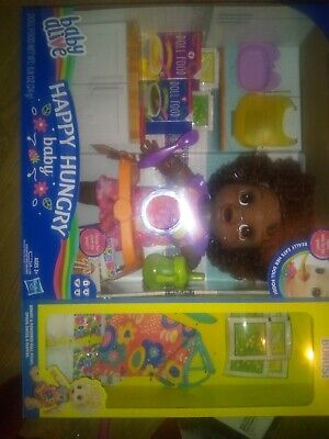 *BRAND NEW* Baby Alive Happy Hungry Black w/Bonus Accessories Walmart Exclusive