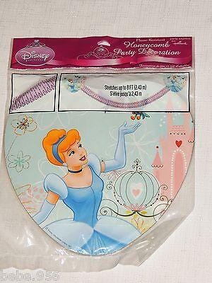 CINDERELLA  DREAMLAND HONEYCOMB PARTY DECORATION , BIRTHDAY-CHILD PARTY - Cinderella Birthday Supplies