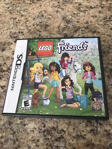 LEGO FRIENDS DS GAME AND ICARLY DS GAME