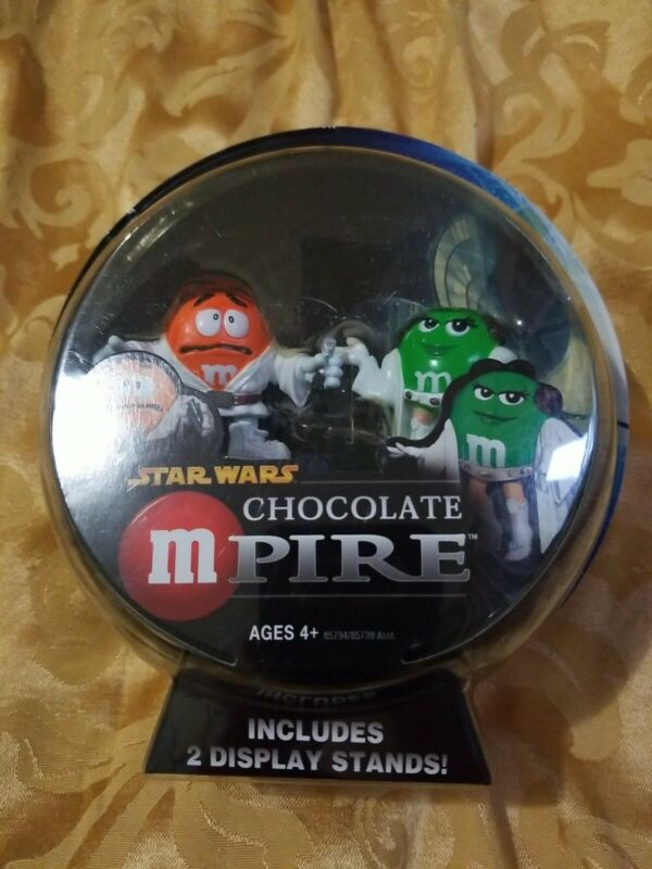 Hasbro Star Wars Chocolate mpire Luke & Princess Leia  Action Figure M&M