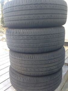 4-215/55R17 Bridgestone all season