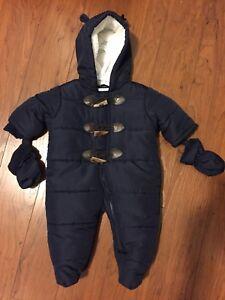 0-3mth snow suit