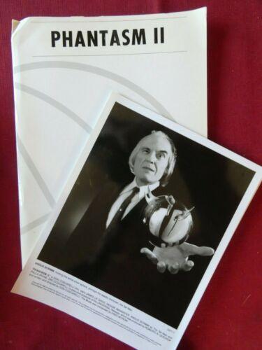 PHANTASM II press kit 7 B&W photos RARE COLOR STICKER