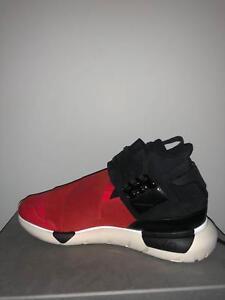 adidas Y3 Qasa High Red Black