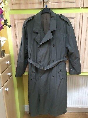 HUGO BOSS DAHM & SCHADLER  BEAUTIFUL VINTAGE khaki green men's coat size XL