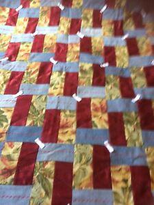Beautiful NEW Jean Quilt blanket