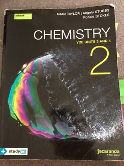 VCE units 3 and 4 chemistry textbook