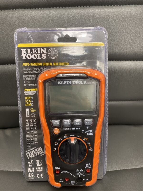 Klein Tools MM700 Auto-Ranging Digital Multimeter New