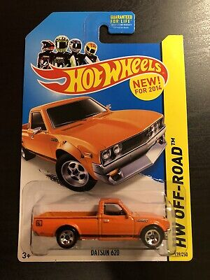 Hot Wheels Datsun 620 Orange Hw Off-road
