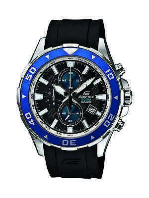 Casio Men's EFM501-1A2 Edifice Analog Display Quartz Black Watch