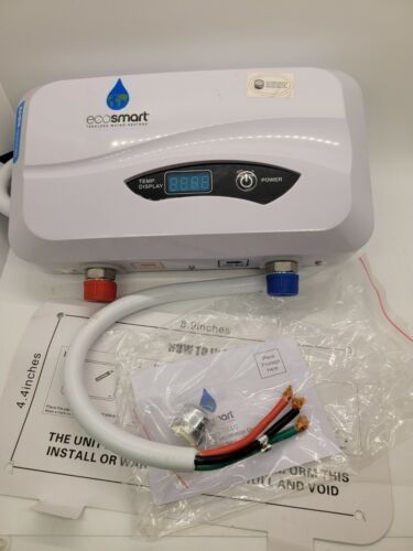 Ecosmart POU 3.5 Point Of Use Electric Tankless Water Heater White