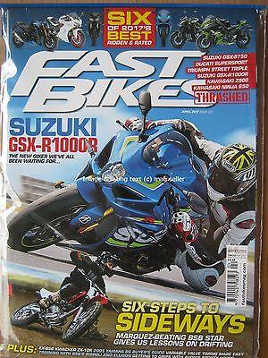 Fast Bikes April 2017 Suzuki GSX-R1000R Kawasaki ZX-10R Z900 Ninja 650 Yamaha R6 for sale  Billericay