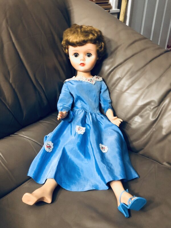 Vintage Supermarket Doll 24 inch 7 Arrow in Diamond 1950s Fashion Sold As Is
