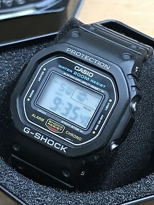 Casio Vintage All Original G Shock DW 5600 Screwback