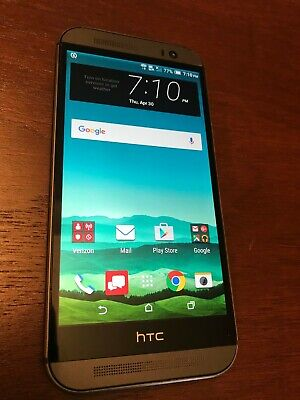 HTC One M8 - 32GB - Gunmetal Gray (Verizon) Smartphone - Clean ESN