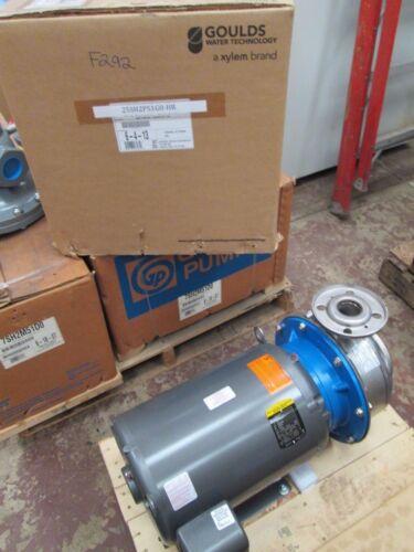 """Gould S/S Centrifugal Pump G&L Series SSH #25SH2P51G0 2""""x2-1/2""""-10 25HP (NIB)"""
