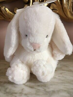 H&M White Bunny Rabbit Comforter Soother Soft Toy Plush Dou Lapin 5.5 inches NEW for sale  Shipping to Ireland