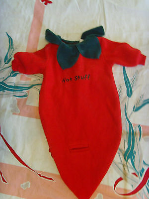 Hot Stuff baby Halloween costume warm and snuggly 3 - 6 mo infant easy food fun (Easy Hot Halloween Costumes)