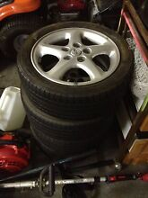 Set of 16 inch wheels and types for Ford Laser SR2 Bayswater Bayswater Area Preview