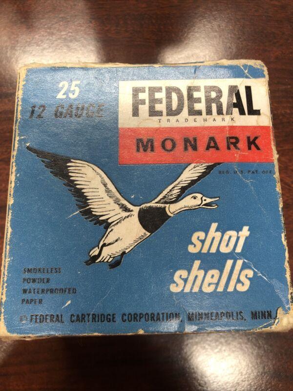 Federal Monark 12- Gauge Box