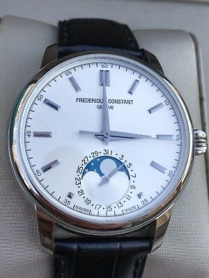 Frederique Constant Classics Manufacture Moonphase Fc 715S4h6 Automatic Watch