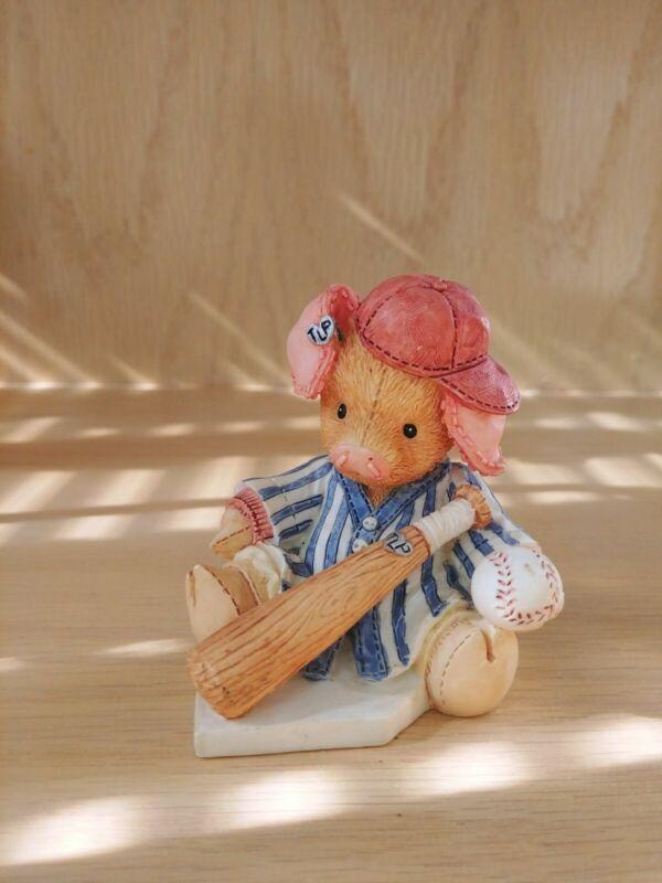 This Little Piggy Figurine Little Piggy Cried Whee Whee All The Way Home ENESCO