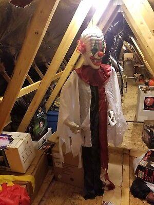 Evil Creepy   Clown 5 foot spirit halloween clown (Evil Clown)