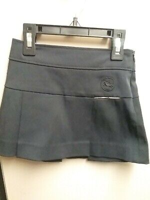 Burberry Baby Girl Skirt Size 3 Navy Blue s5