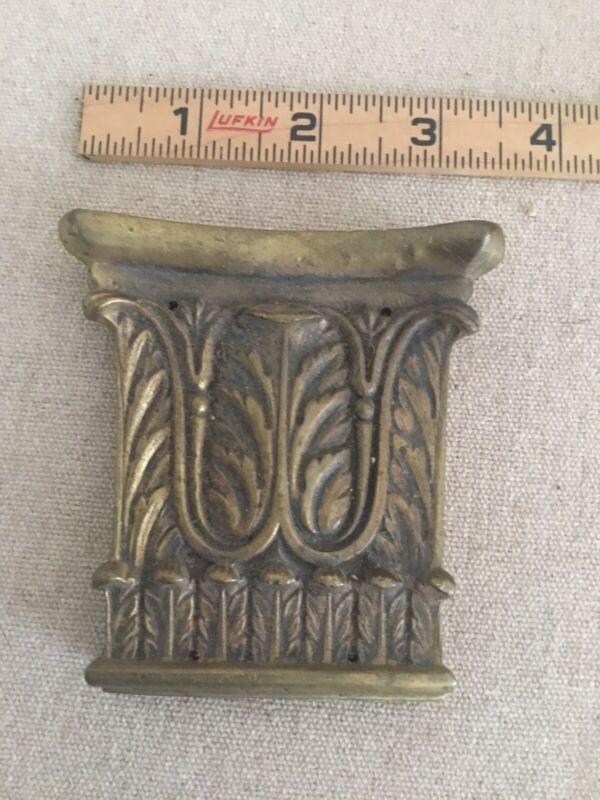 Antique Brass Furniture Mount Hardware 1820