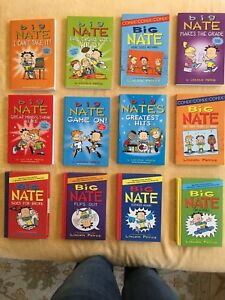 Big Nate book collection. 12 books