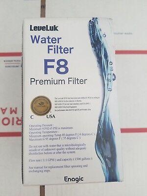 Usado, water filters f8  premiumUSA Replacement Filter for Leveluk Enagic Kangen  new comprar usado  Enviando para Brazil