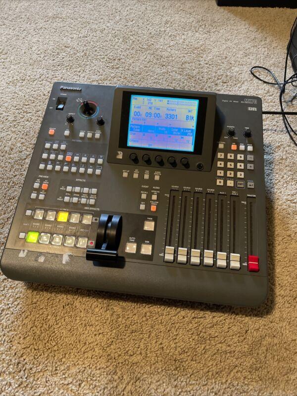 Panasonic AG-MX70 8 channel video switcher/ mixer