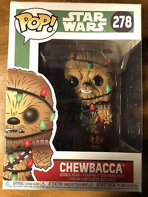 Funk POP! Christmas Chewbacca: Star Wars #278