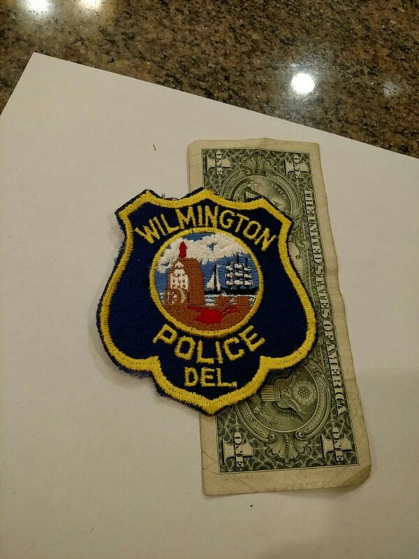 Vintage Wilmington Delaware Police Department Patch New Old Stock