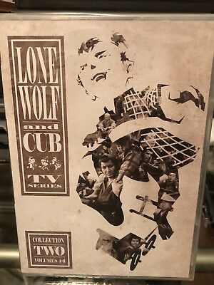 Lone Wolf and Cub TV Series Collection Two (DVD) Volume 4-6, 6 Disc Set! NEW!
