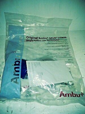 Ambu Spur 444212000 Infant Resuscitator Baby Respiratory Training Emt Nurse Md