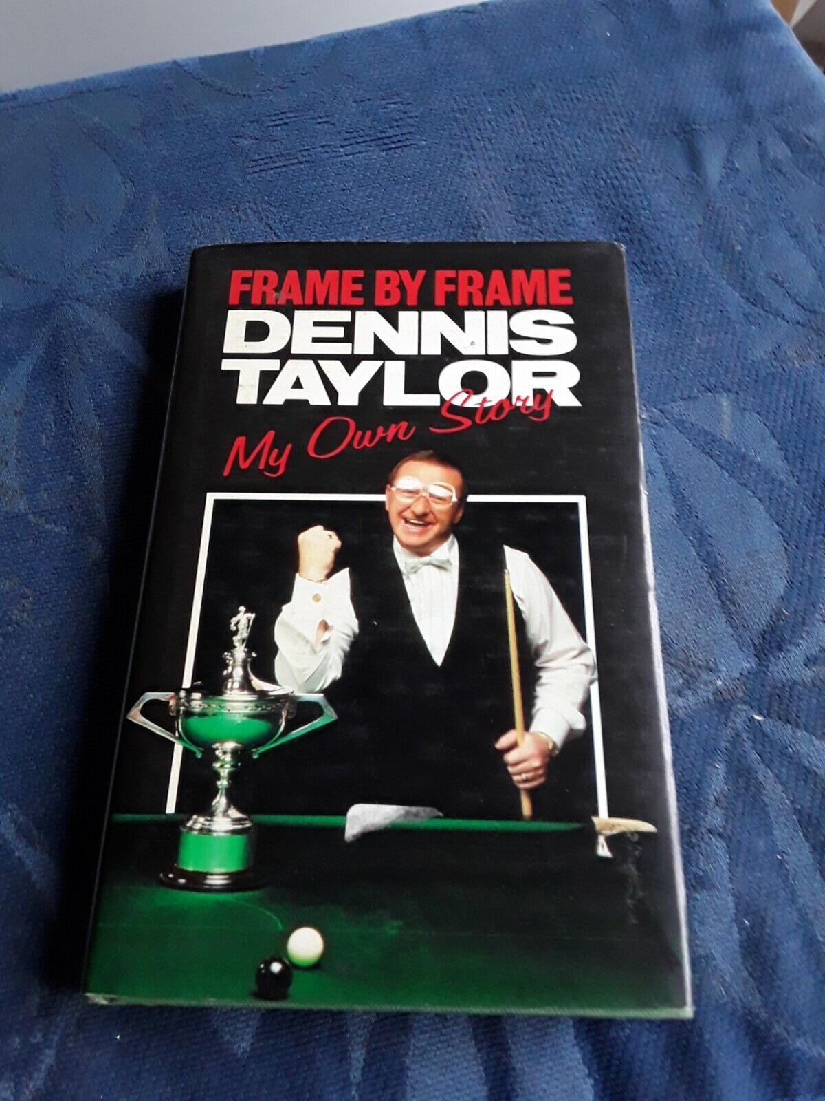 dennis Taylor  frame by frame book