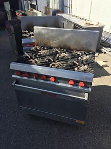 Vulcan stove top and oven