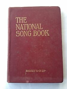 G4939 The National Song Book complete collection of the folk-songs, 1906 Boosey