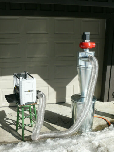 Cyclone Dust Collector - 4 inch inlet on the Left