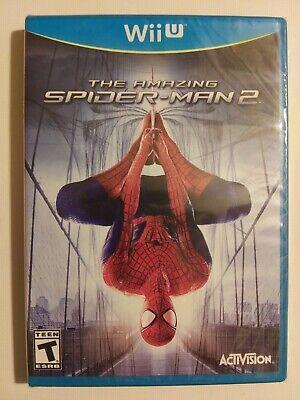 Amazing Spider-Man 2 (Nintendo Wii U, 2013) NEW Sealed Free shipping & returns!