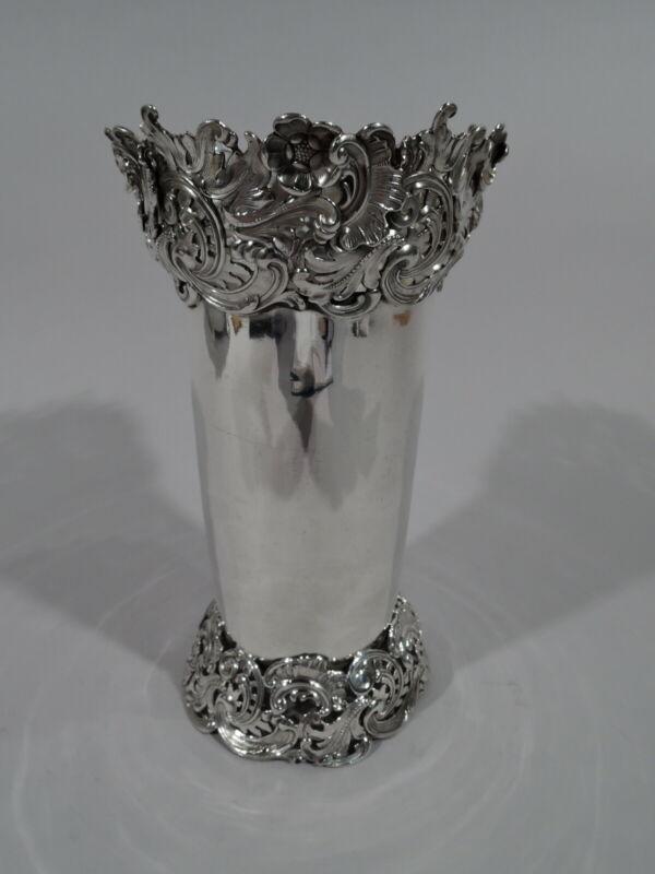 Redlich Vase - 1682 - Antique Art Nouveau - American Sterling Silver